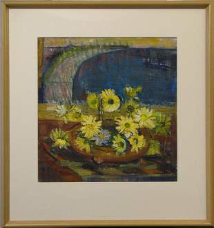 Dorothy Stoner 190492 Australia Yellow Daises