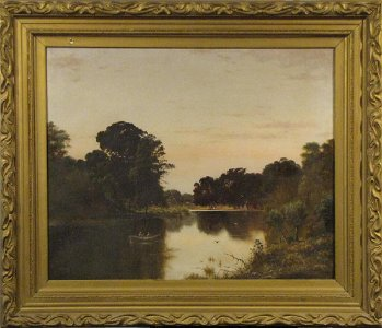 Haughton Forrest (1826-1925) Britain Australia - Nile