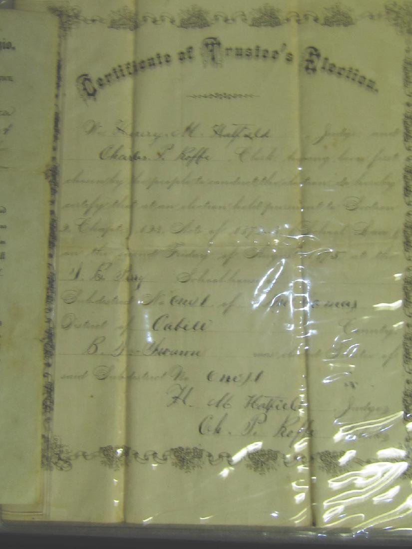 1875 Certificate of Trustee's Election
