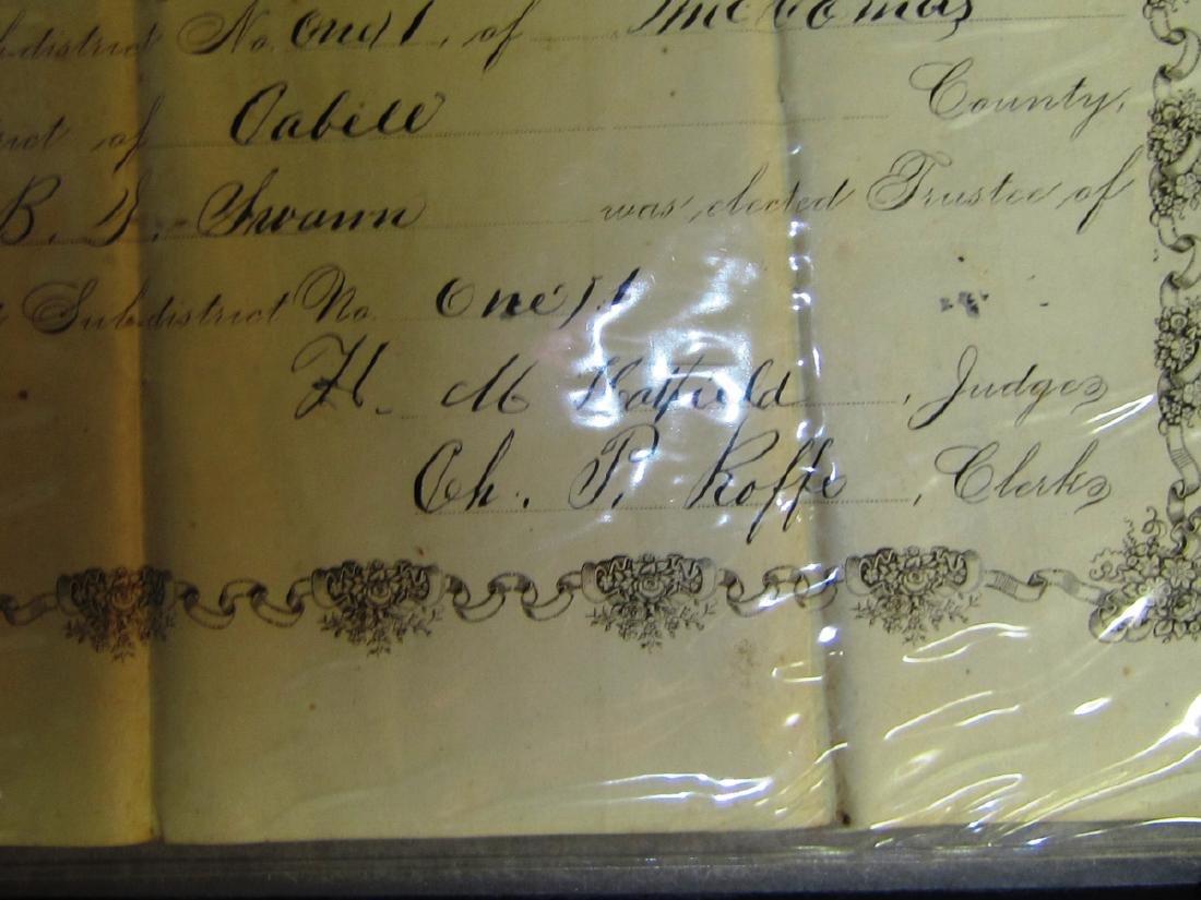 1875 Certificate of Trustee's Election - 2