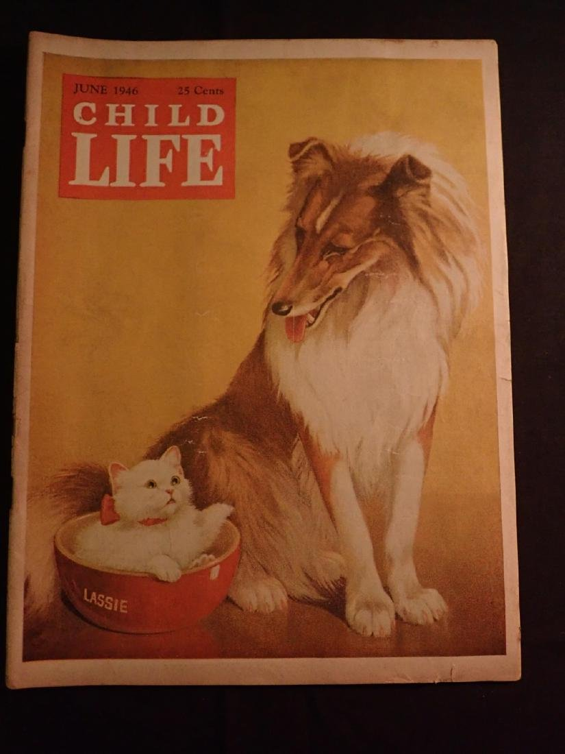 June 1946 Child's Life Magazine