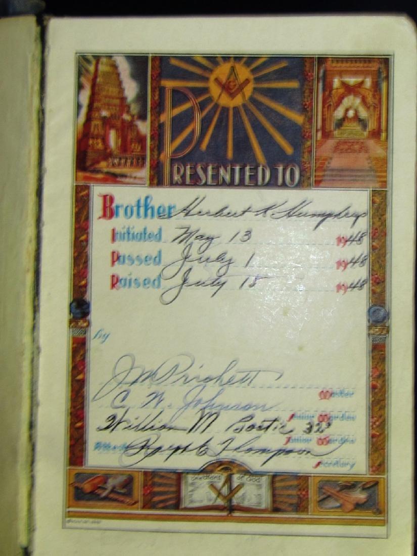 Masonic Book Lot - 3