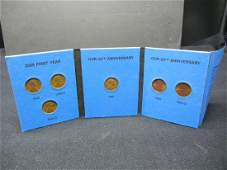 Whitman 50th Anniversary Coin Folder  Lincoln Cents
