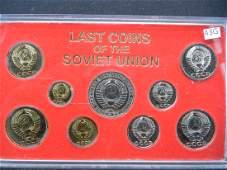 Last Coins of the Soviet Union Set