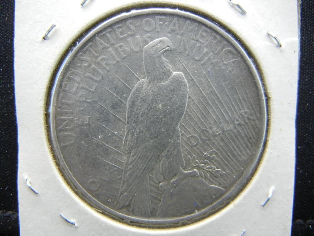 1922-D Peace Dollar - 2