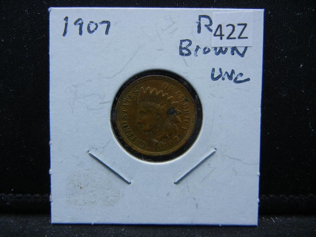 1907 Indian Head Cent - 3