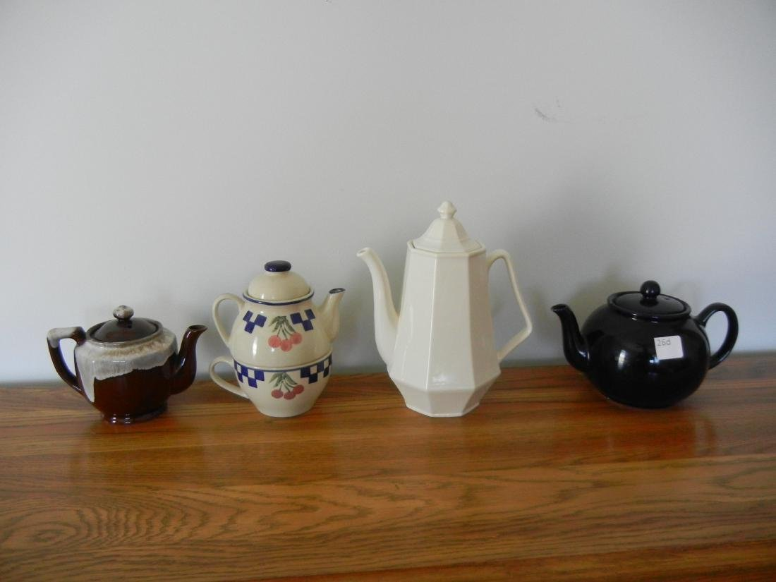 Coffee and Tea pots 4 pieces