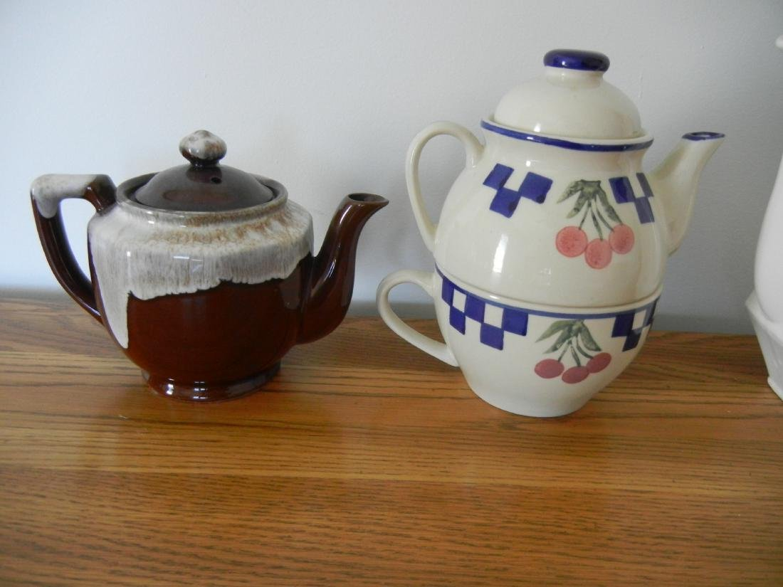 Coffee and Tea pots 4 pieces - 2