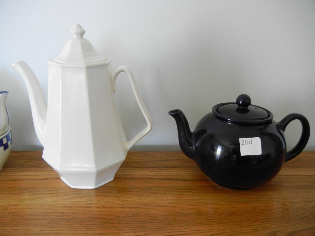 Coffee and Tea pots 4 pieces - 3