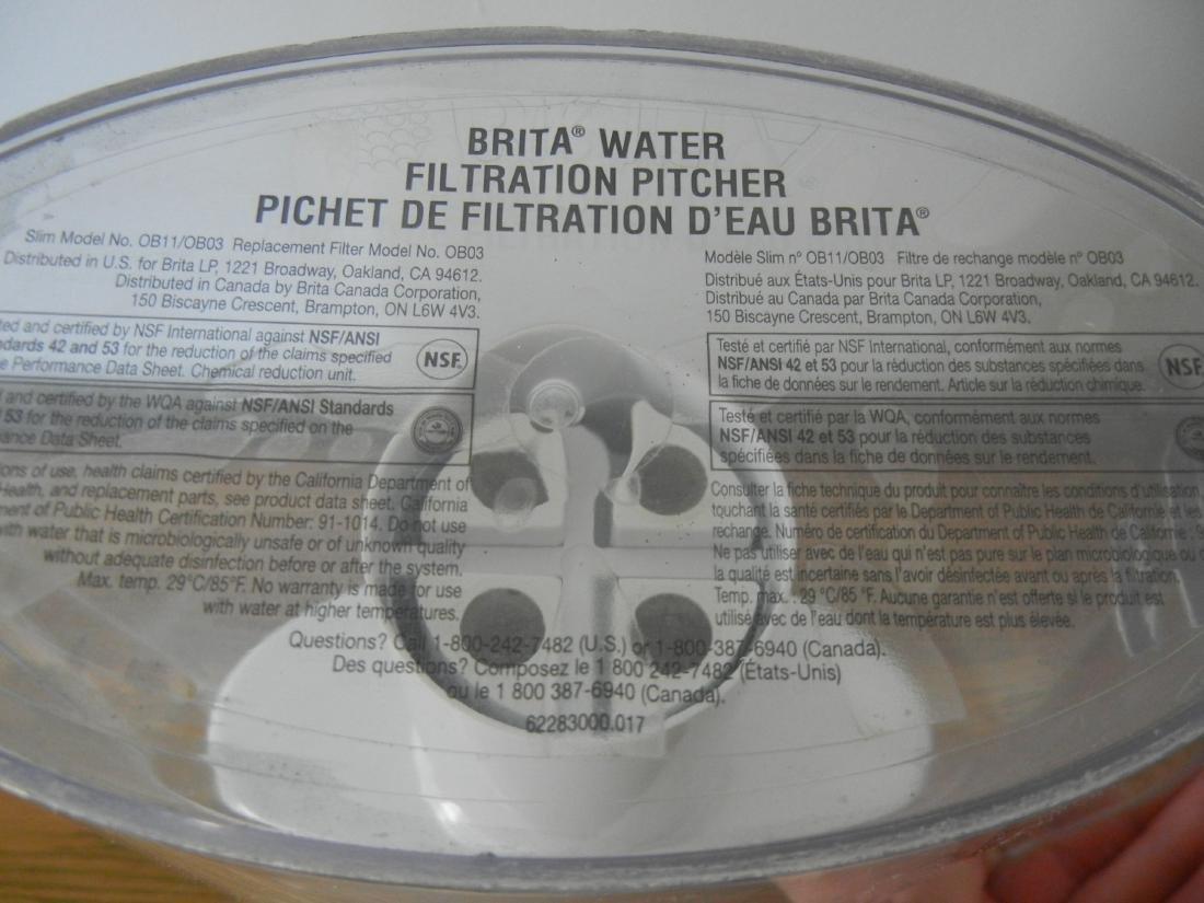 Brita water Filter Pitcher - 3