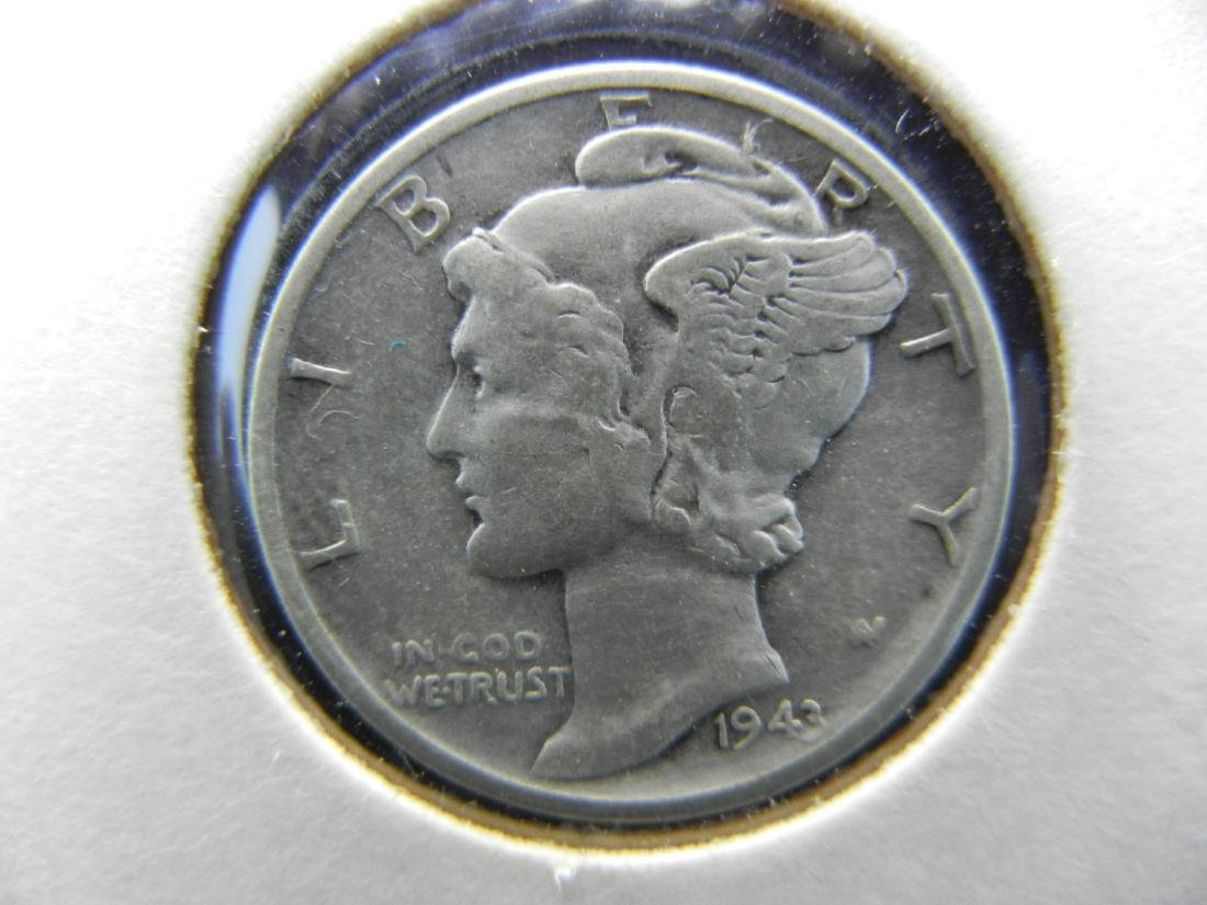 1943 Mercury Dime