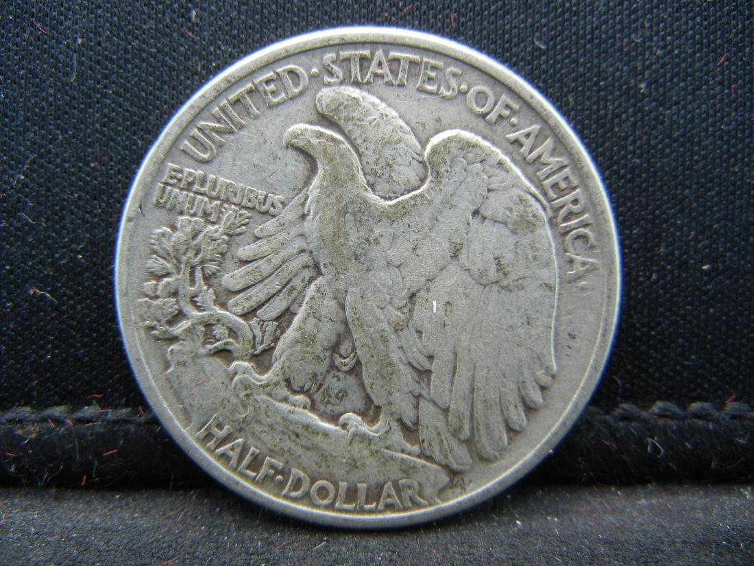 1943 Walking Liberty Half Dollar - 2