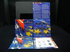 50 State Quarter and Euro Coin Collection   5 2002