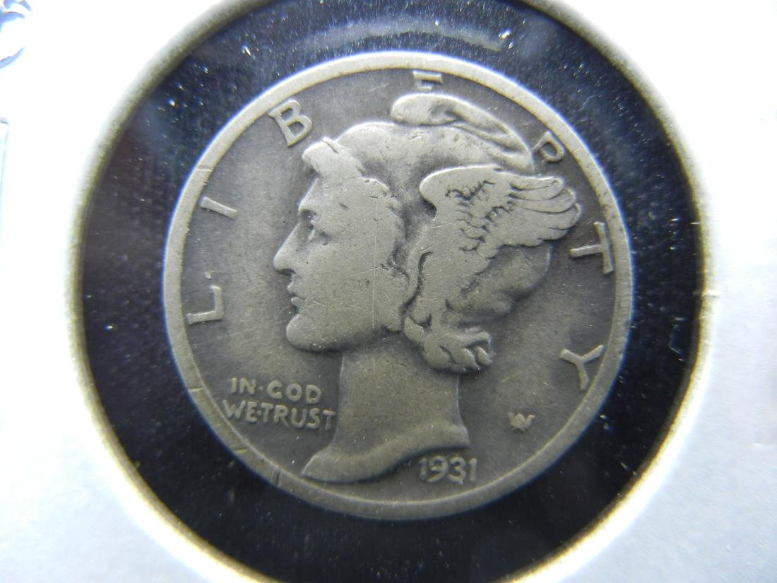 1931-D Mercury Dime