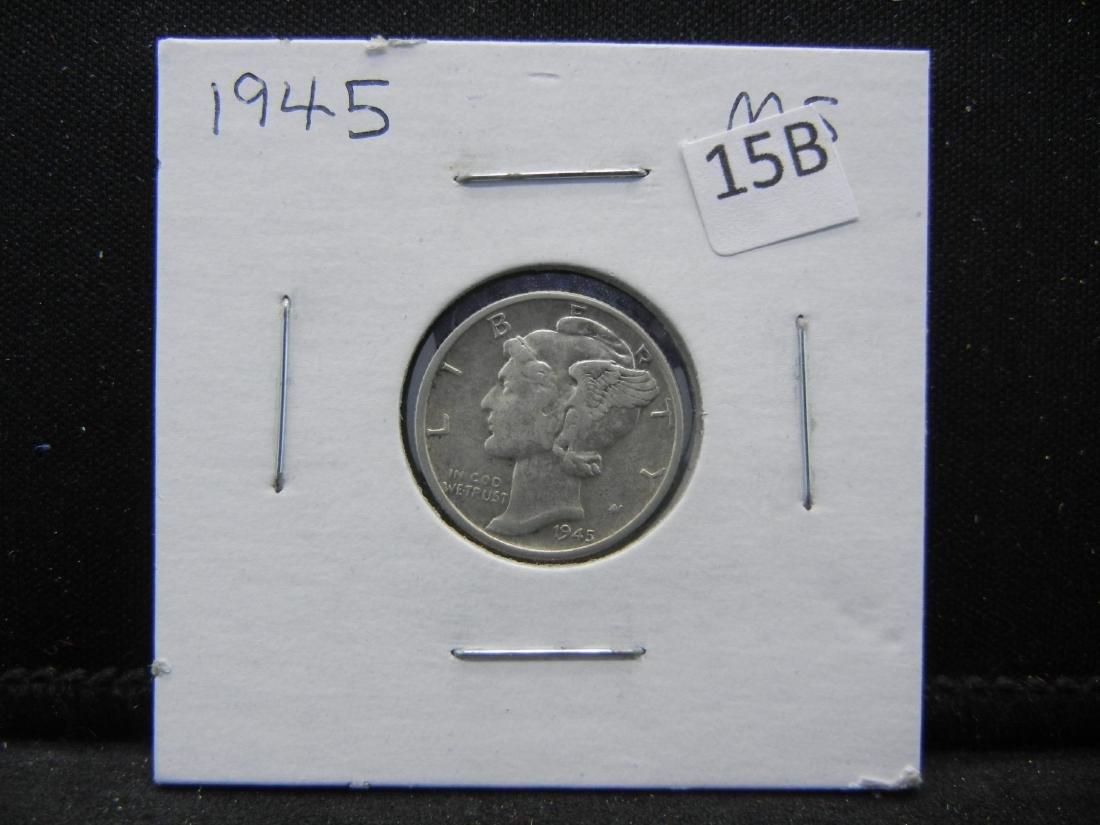 1945 Mercury Dime - 3