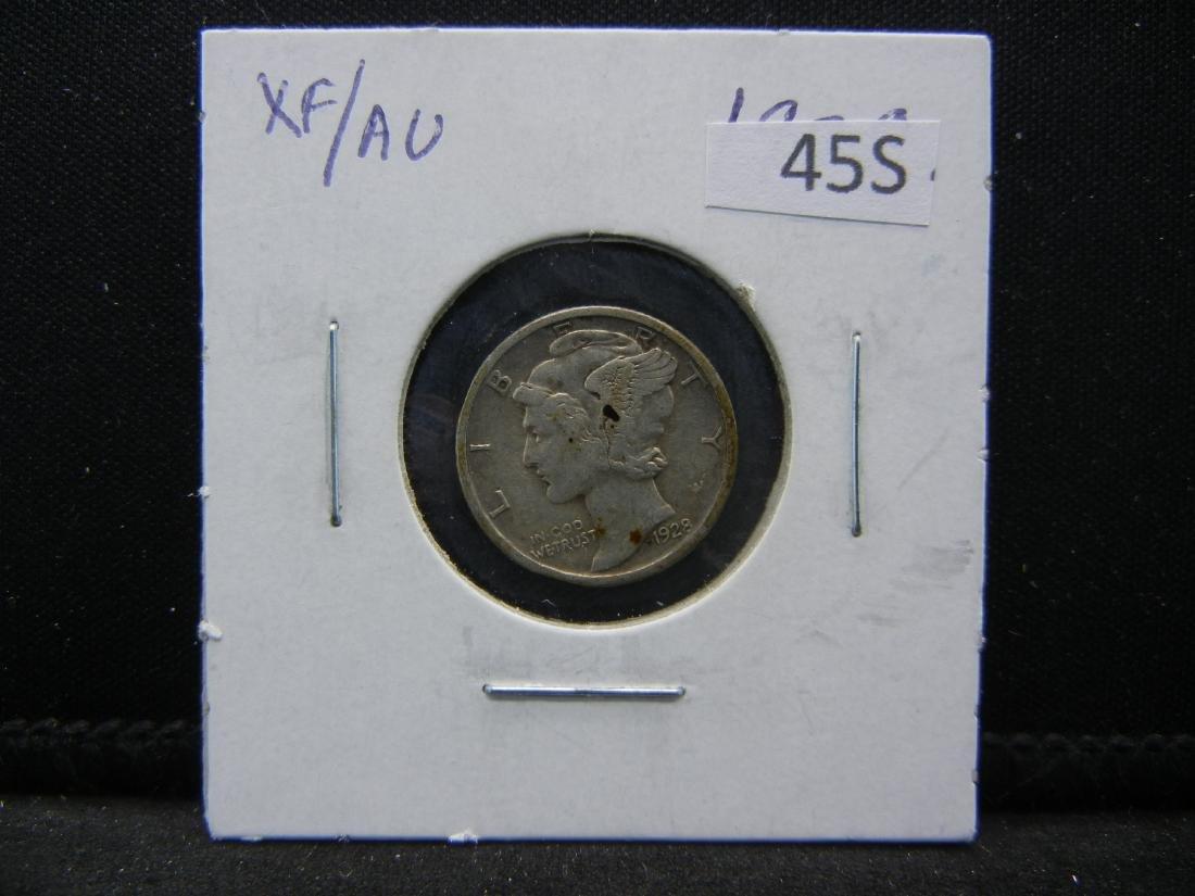 1928 Mercury Dime - 3