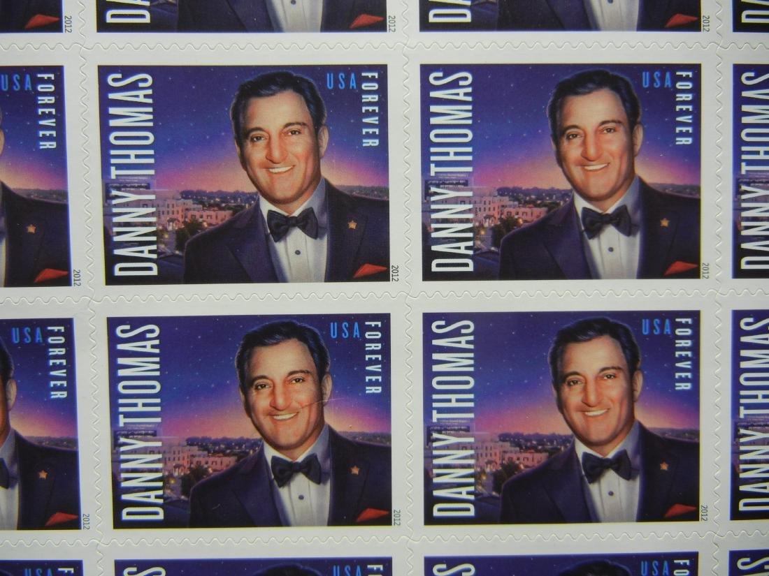20 Danny Thomas Stamps - 2