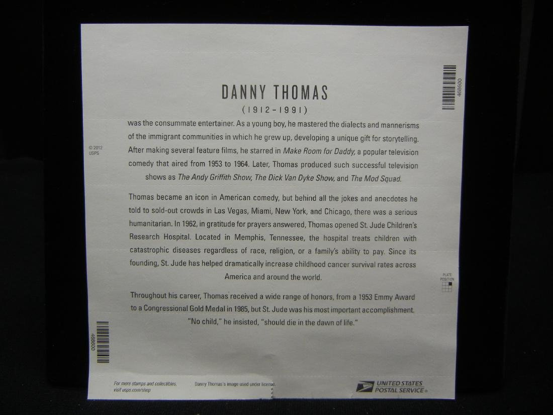 20 Danny Thomas Stamps - 3