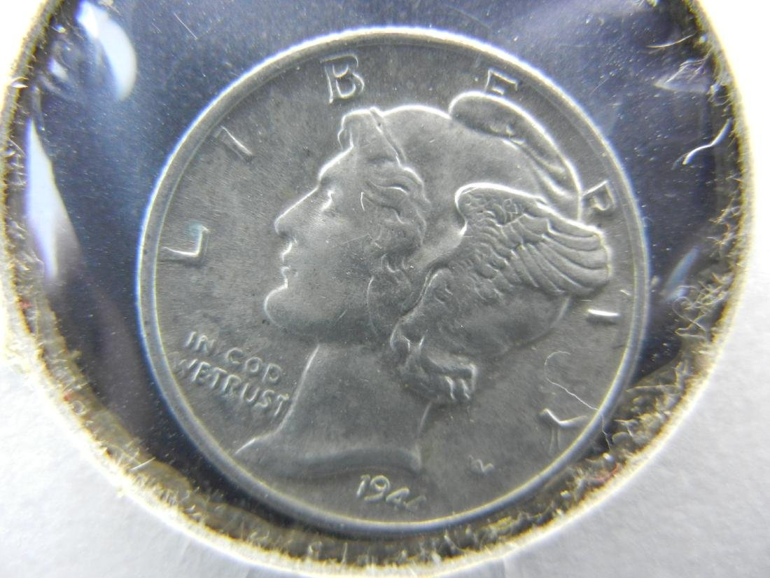 1944 Mercury Dime