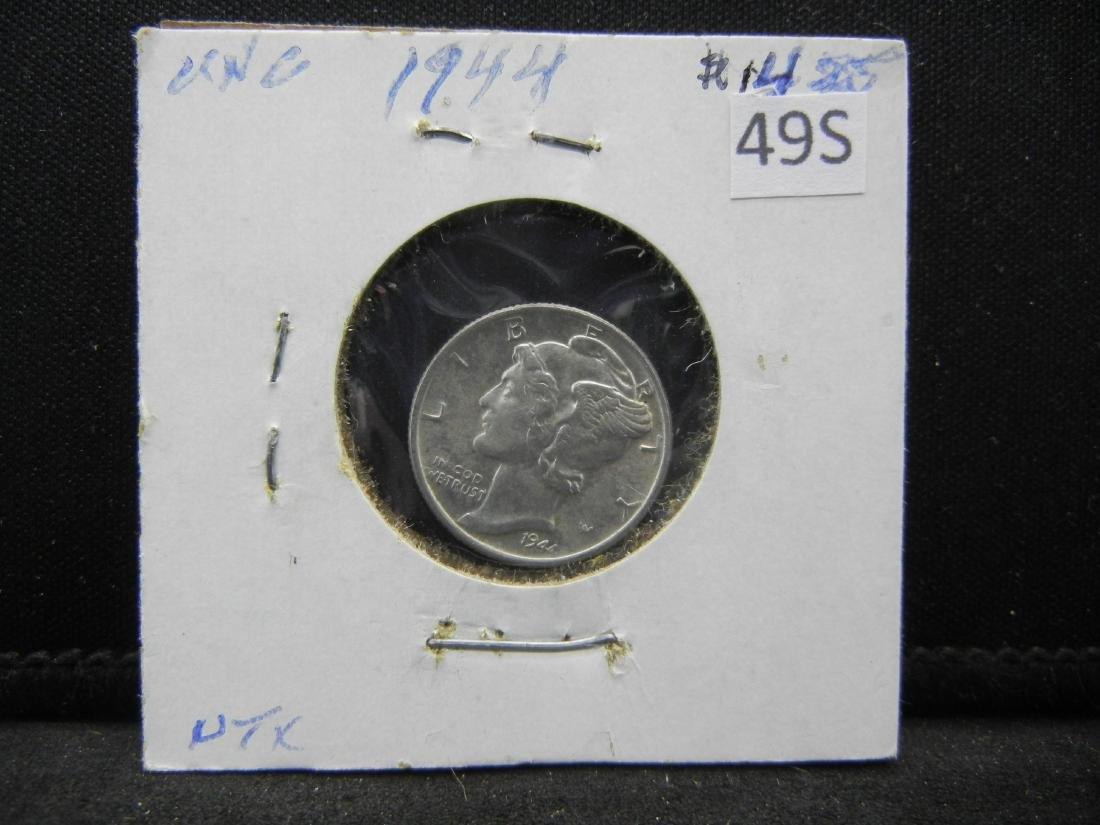 1944 Mercury Dime - 3