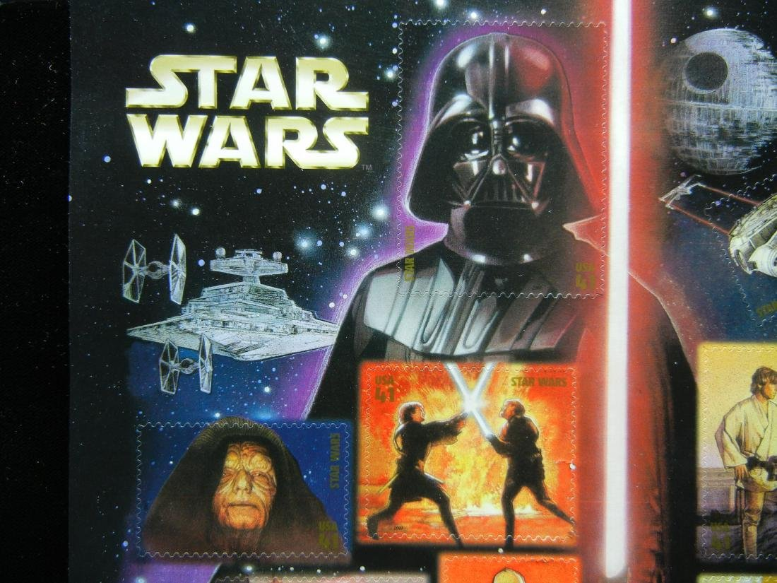 Sheet of Star Wars Stamps - 2