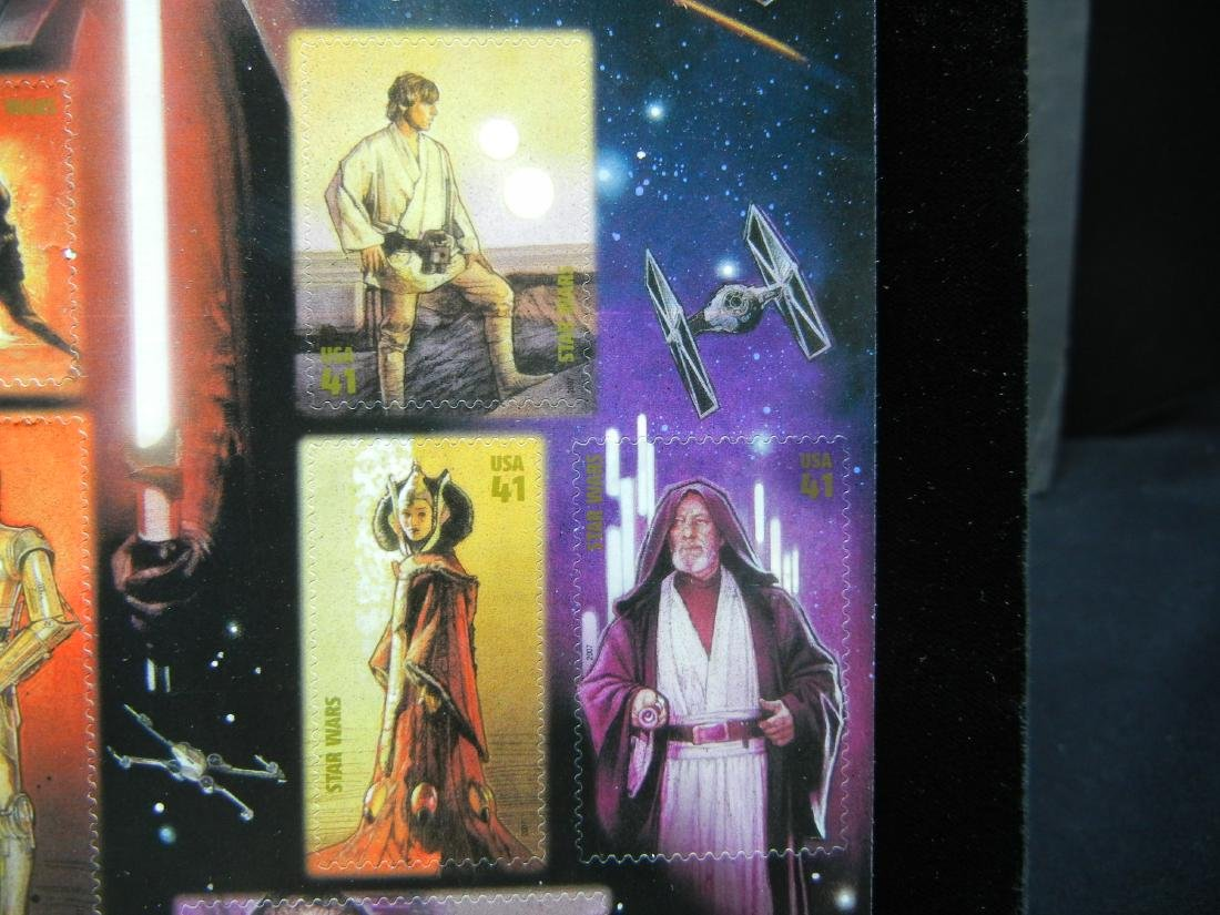 Sheet of Star Wars Stamps - 4