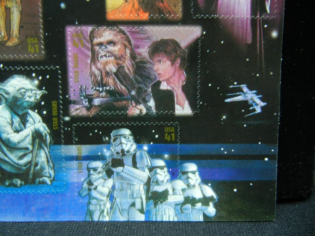 Sheet of Star Wars Stamps - 5