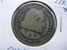 1893 Columbian Expo Commemoraitve Half Dollar