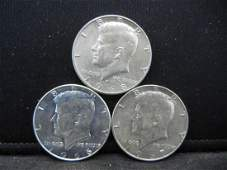 1966 1967 1968D 40 Silver Kennedy Halves