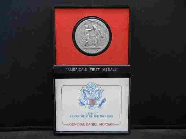 Americas First Medals General Daniel Morgan Obv