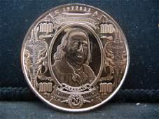 Franklin Copper 999 Fine Copper
