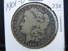 1901O Morgan Silver Dollar