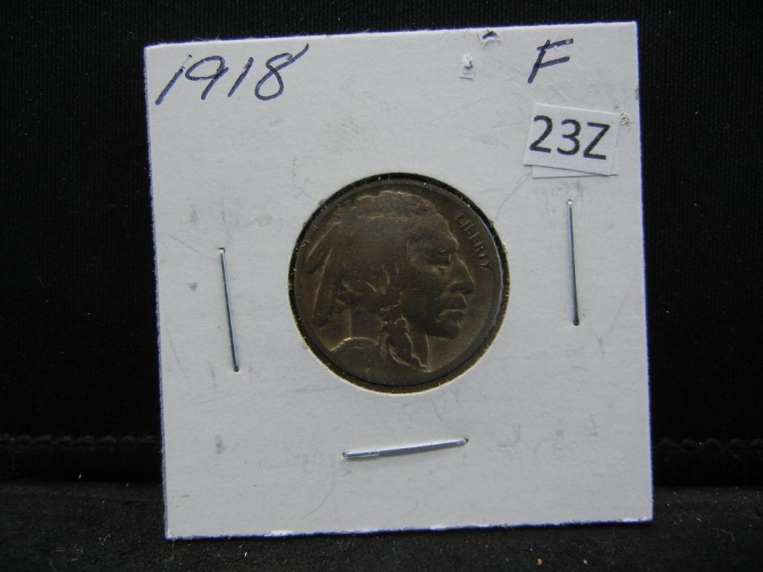 1918 Buffalo Nickel - 3