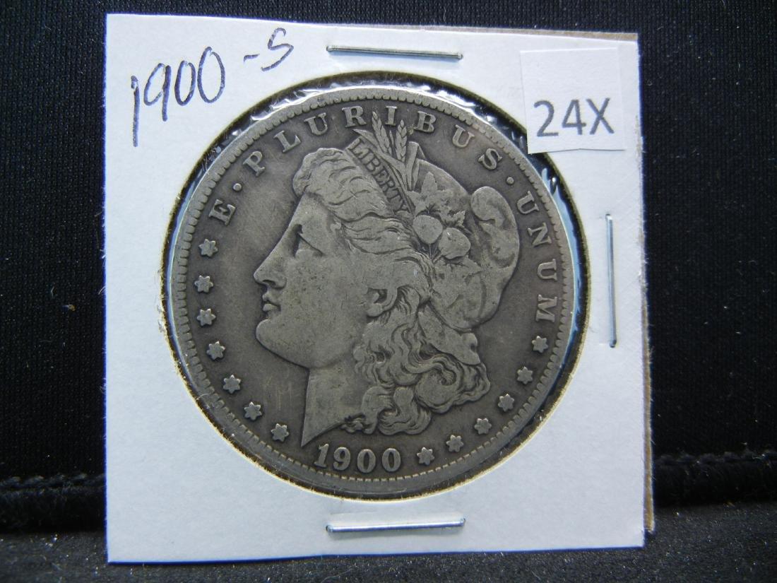 1900-S Morgan Silver Dollar - 3