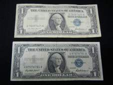21957 1 US Silver Certificates