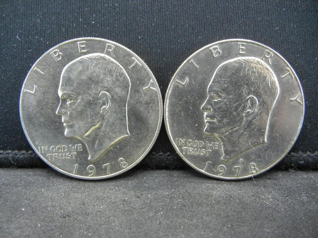 1978-P, D Ike Dollars