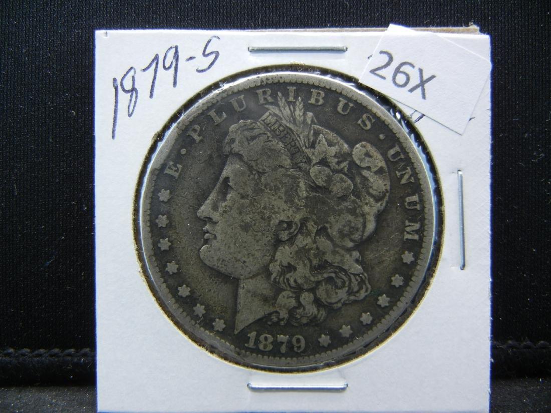 1879-S Morgan Silver Dollar - 3