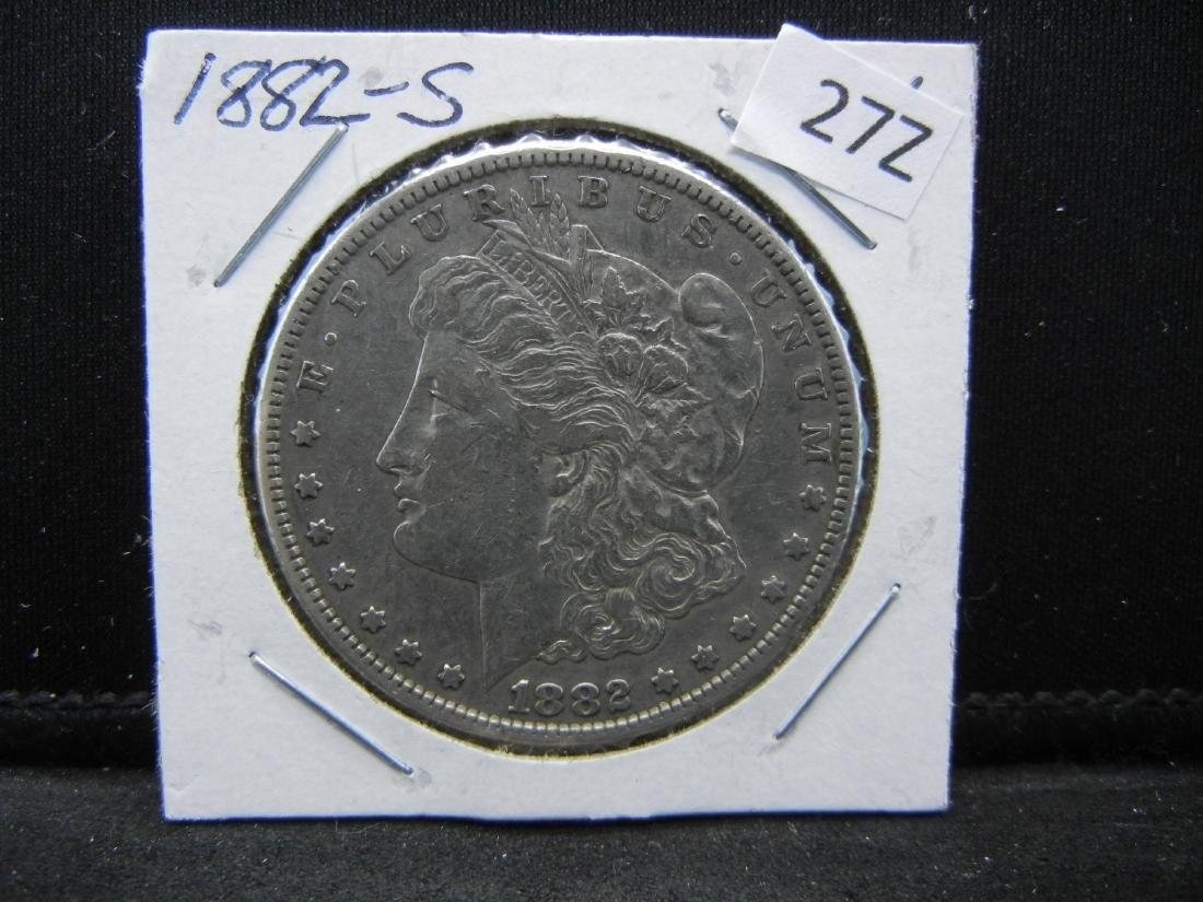1882-S Morgan Silver Dollar - 3