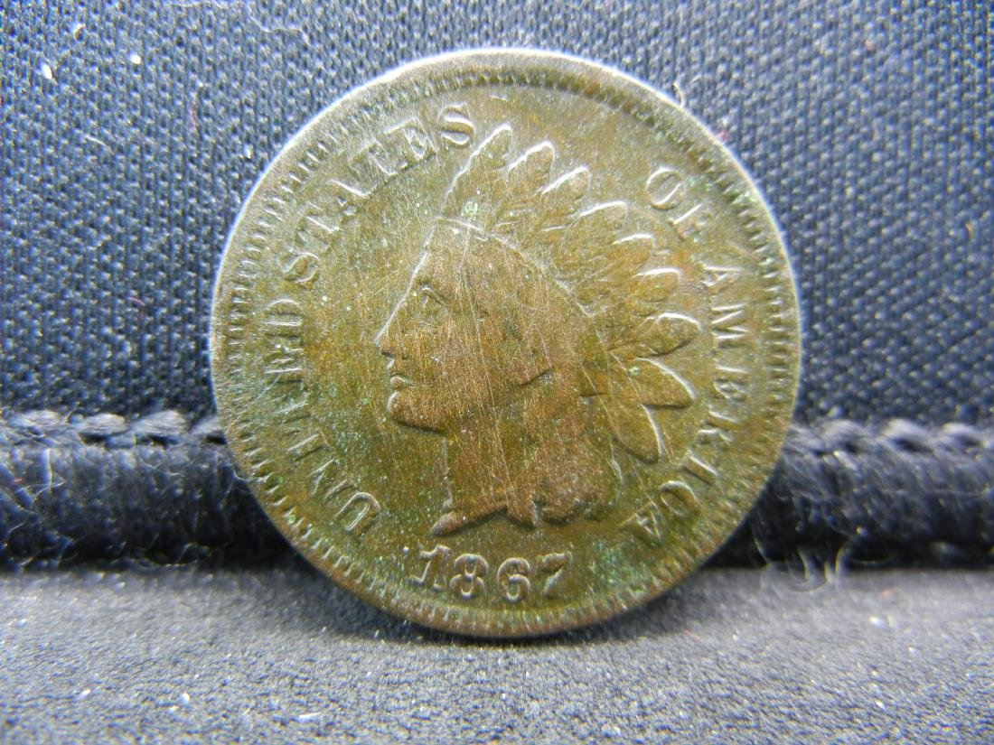 1867 Indian Head Cent.