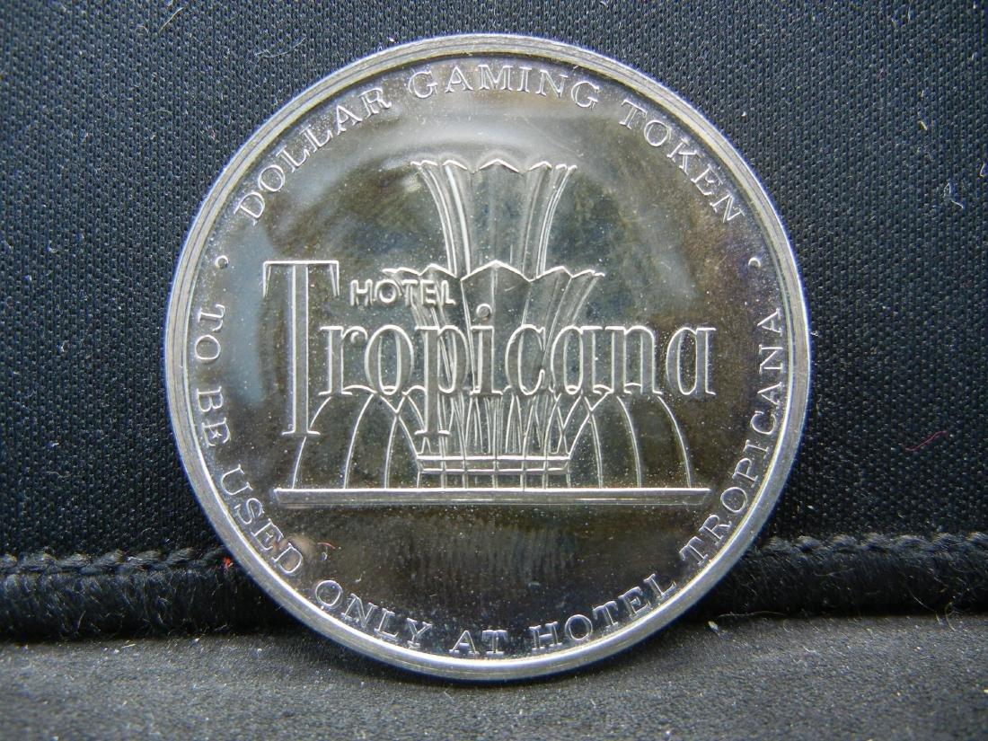 $1 Casino Gaming Token, Tropicana Hotel & Casino Las