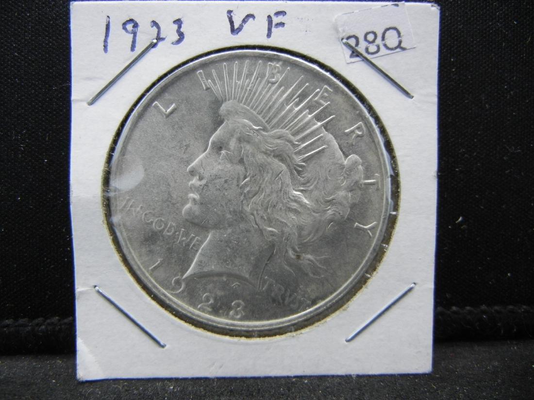 1923 Peace Dollar - 3