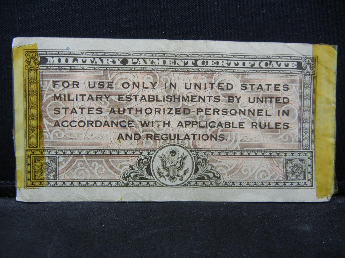 1946 5 Cents Series 461 United States Military Payment - 3