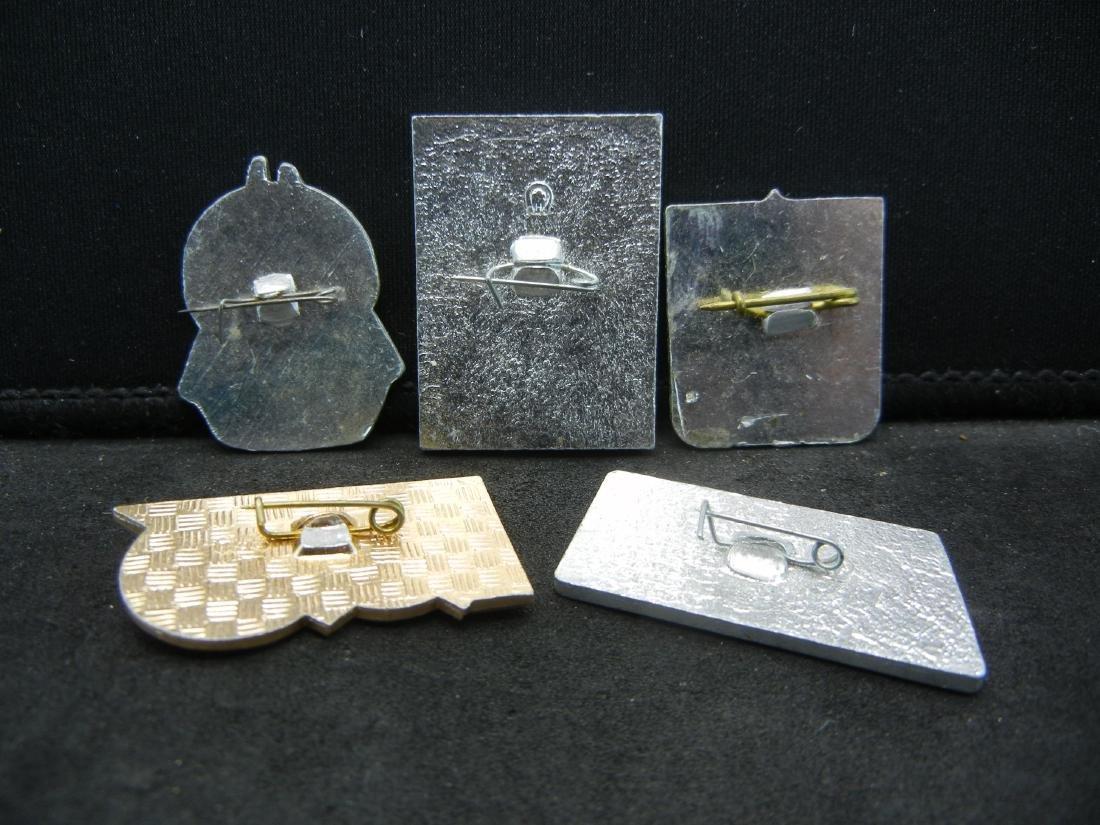 5 Soviet Union Pins - 2