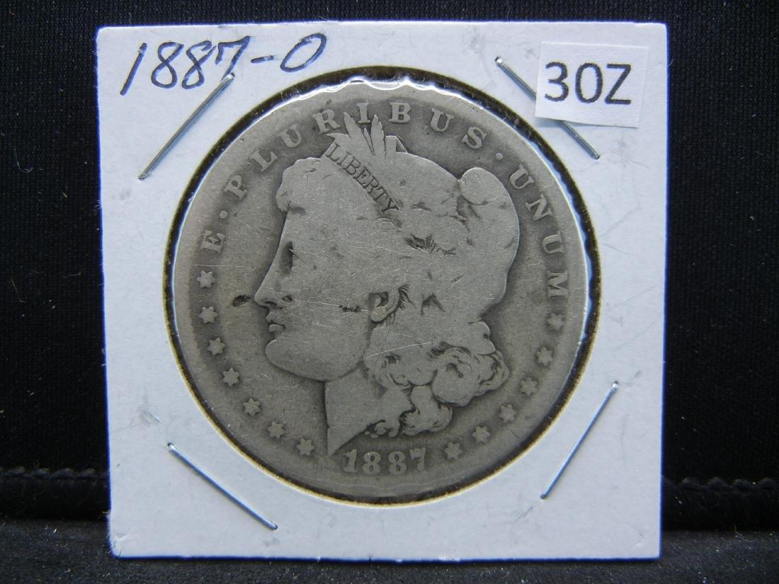 1887-O Morgan Silver Dollar - 3