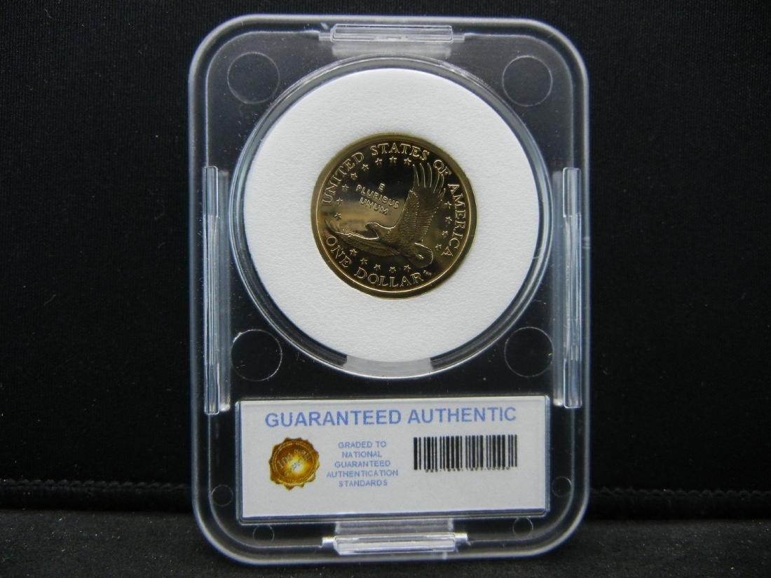 2001 S Sacagawea Dollar NGA PR70 DCAM - 4
