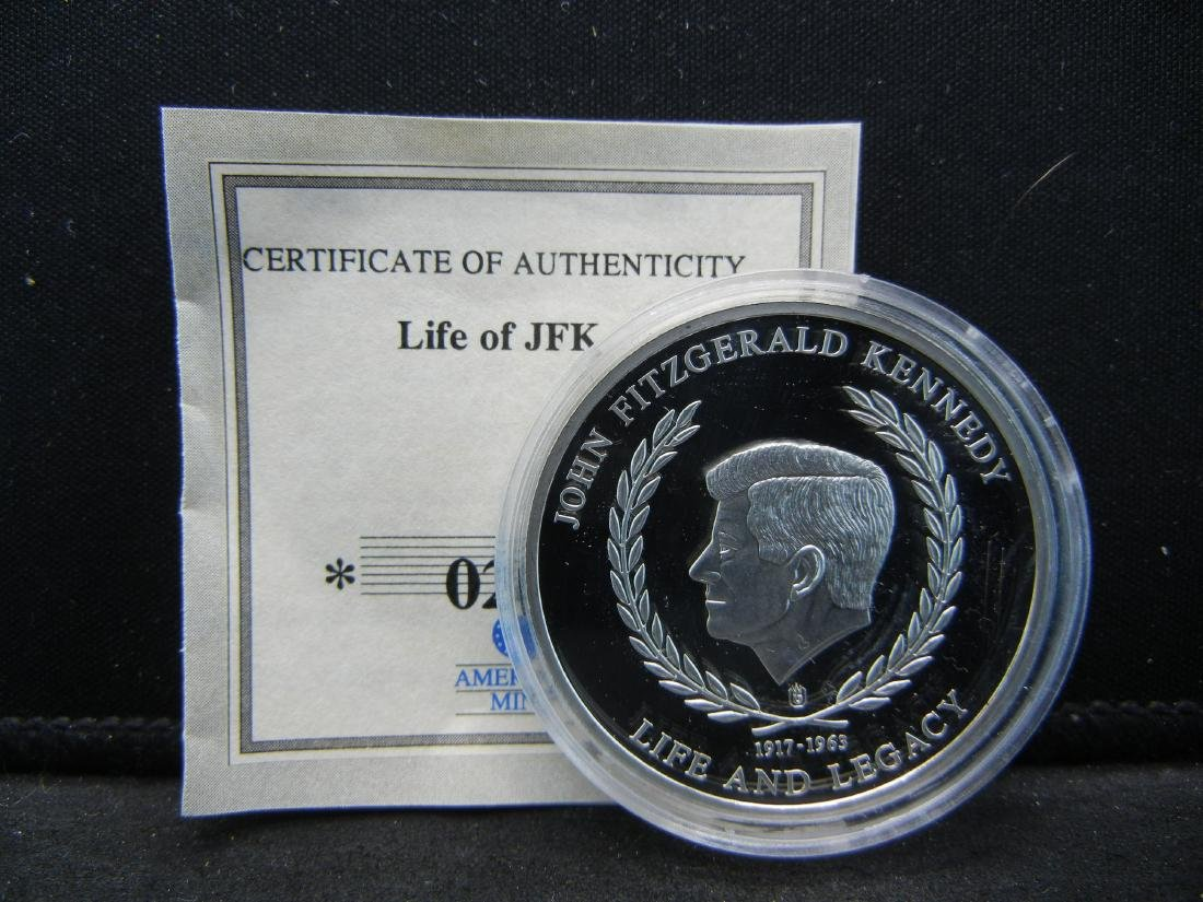 "John F. Kennedy Life & Legacy Medal ""Civil Rights"
