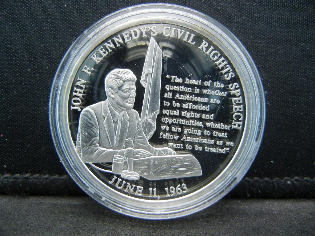 "John F. Kennedy Life & Legacy Medal ""Civil Rights - 3"