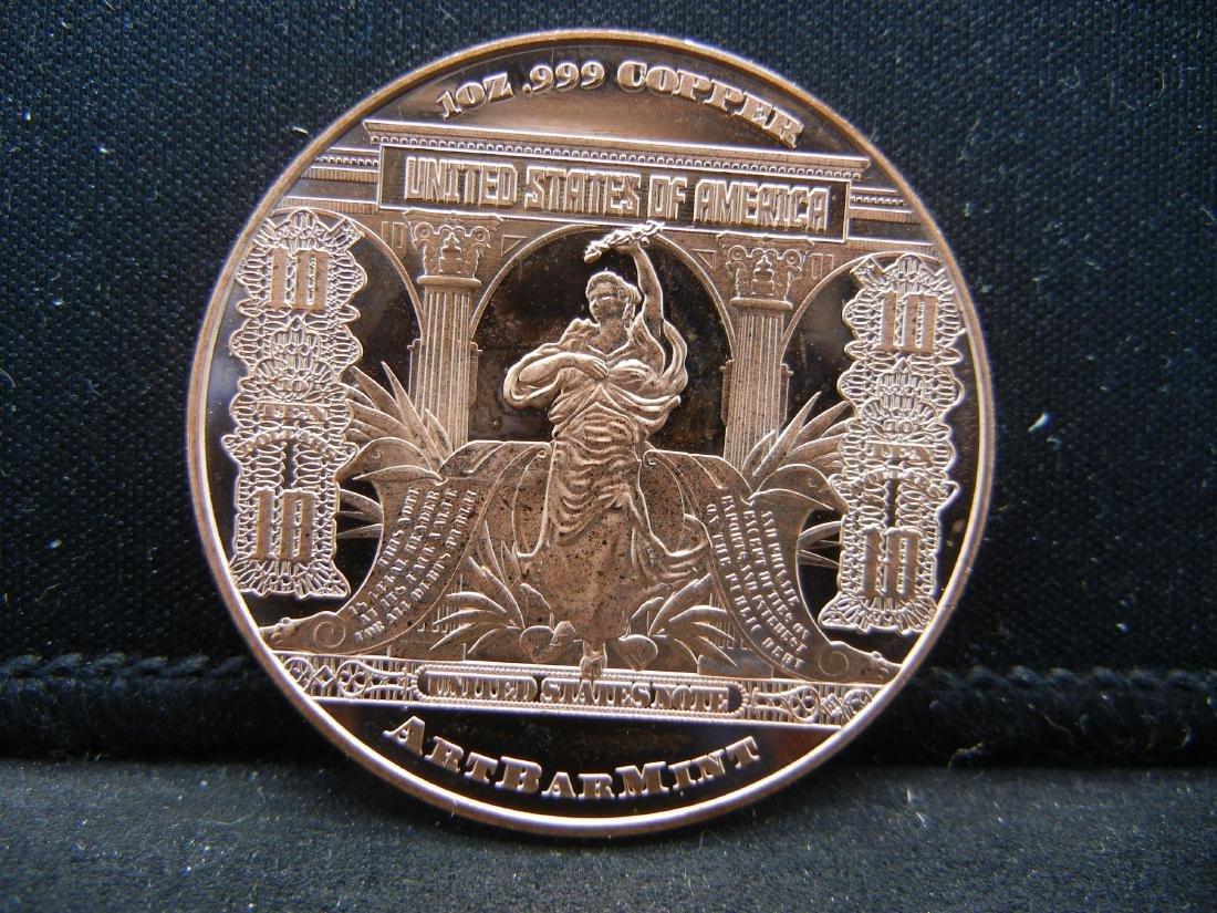 Buffalo Copper .999 Fine Copper