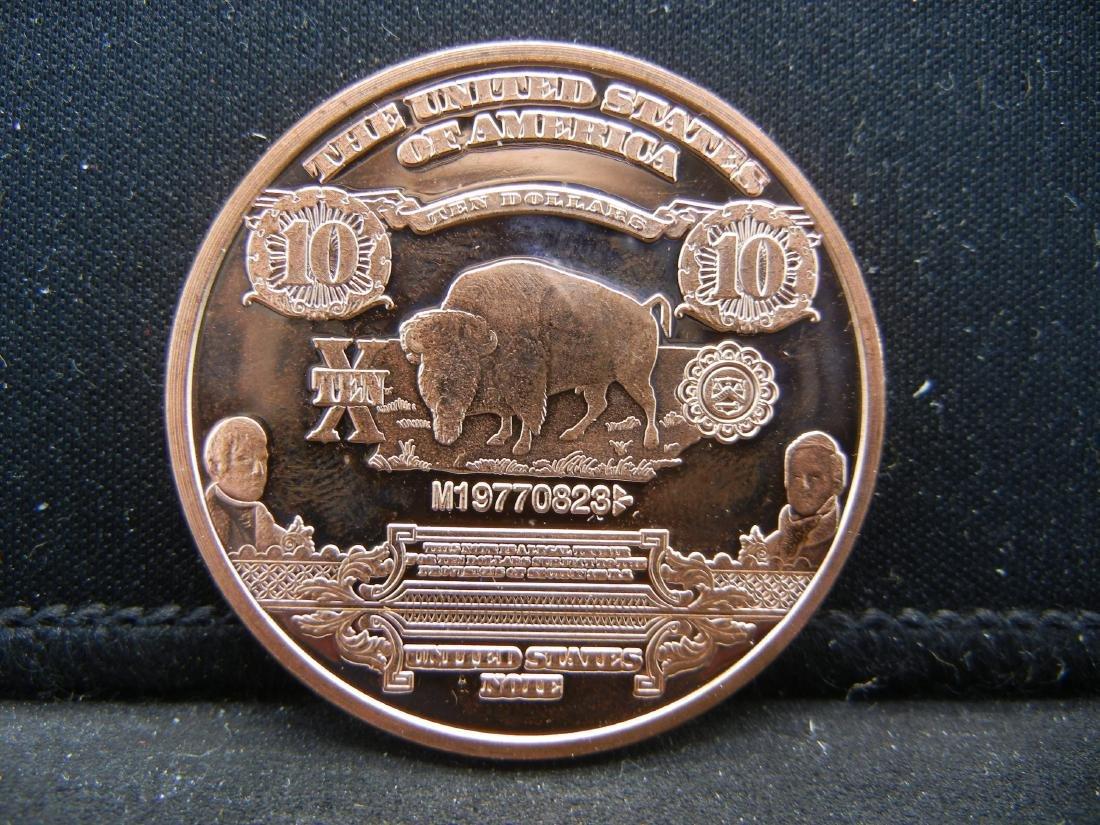 Buffalo Copper .999 Fine Copper - 2