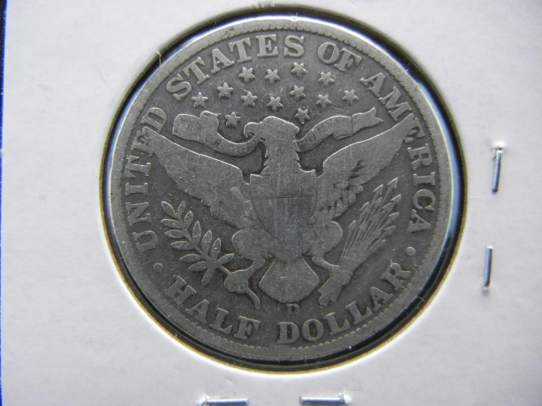 1915-D Barber Half Dollar - 2